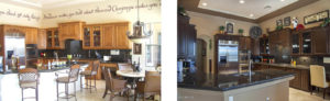 lang kitchen before - after makeover