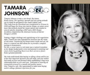 tamara johnson bio from rox star group