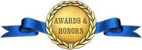 awards & honors banner