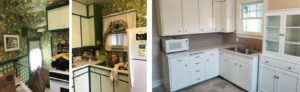 before & after SD kitchen